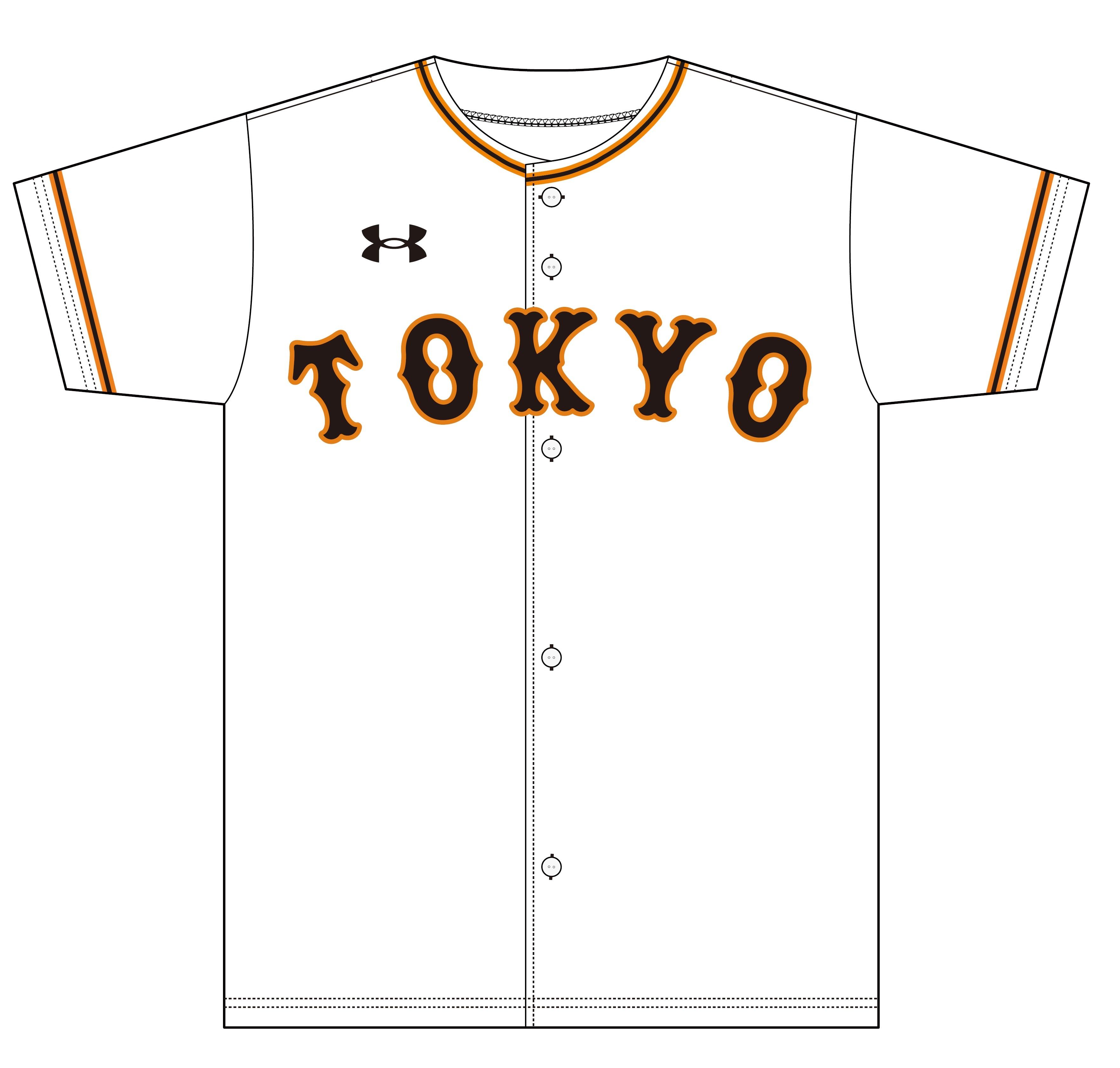 白地に「TOKYO」の文字が入った、シンプルでスタイリッシュなデザイン
