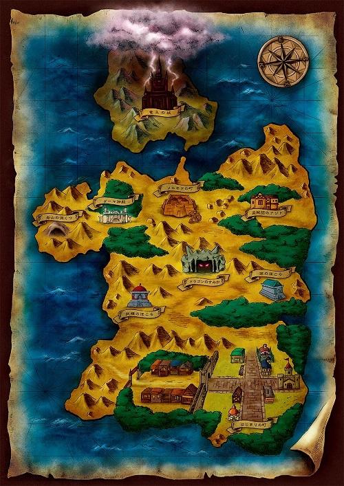 公開されたイメージマップ