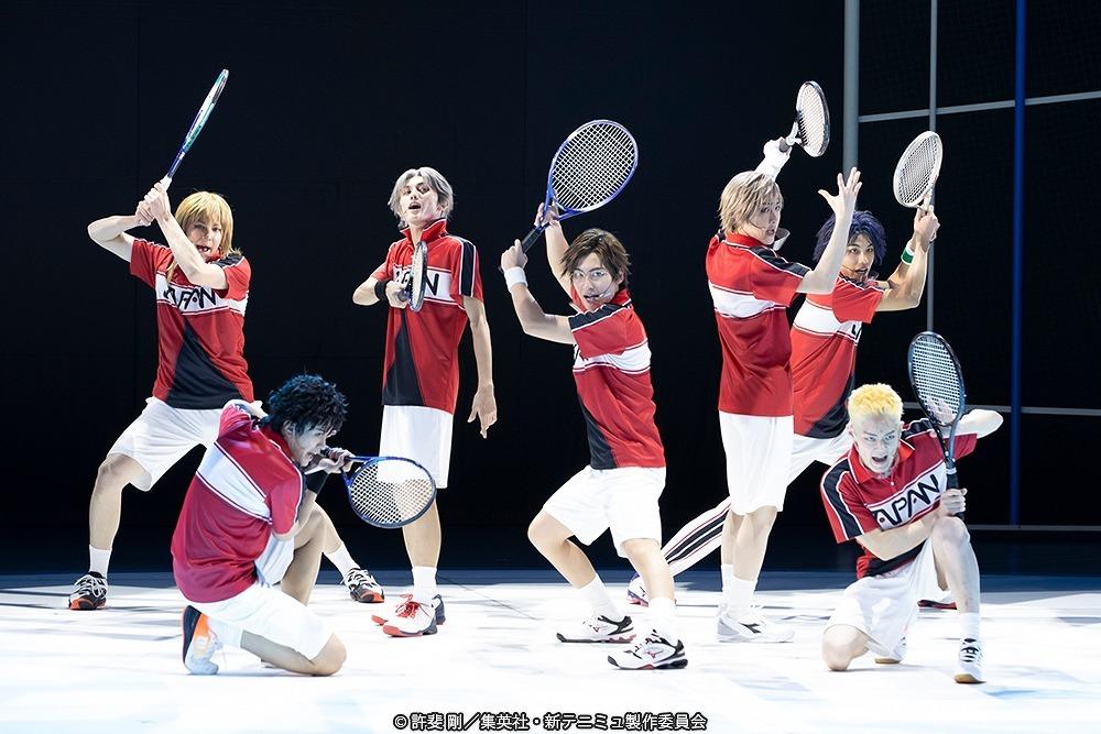 ミュージカル『新テニスの王子様』The First Stage ゲネプロより (C)許斐 剛/集英社・新テニミュ製作委員会