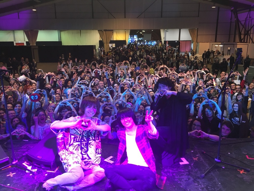 BURNOUT SYNDROMES『SUGOI FESTIVAL』2017年12月フランス・レンヌ