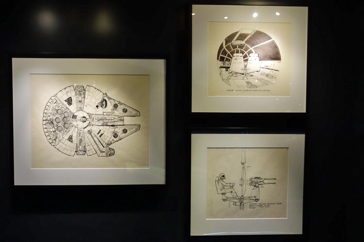 ミレニアム・ファルコンのコンセプト・アート