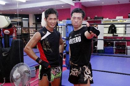 『NJKF 2017 2nd』WBCムエタイ王座のタイトルマッチに臨む、MOMOTAROと健太のインタビューが公開に