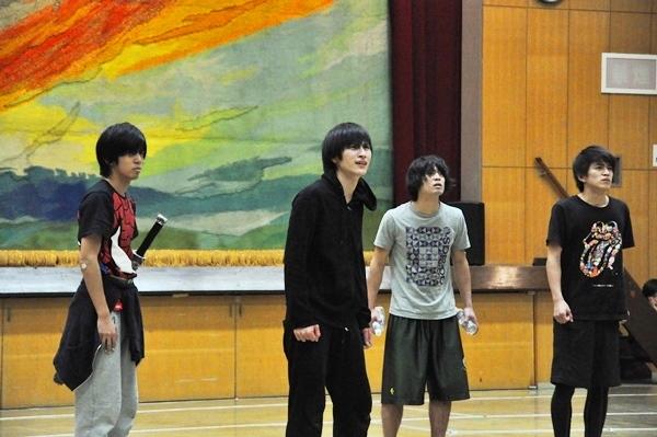 (左から)竹下健人(『あさが来た』の弥七!)、村川勁剛、吉本考志、井上拓哉
