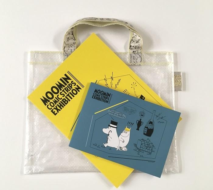 図録(バッグ付き):¥2,200(税込) (C)Moomin Characters™