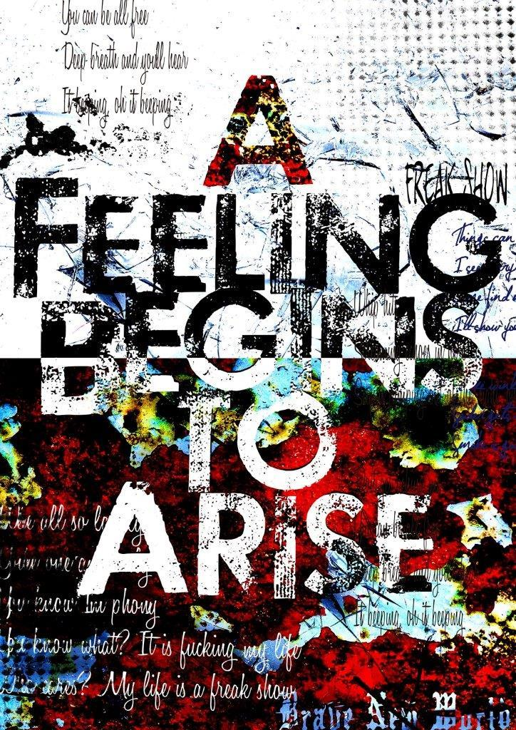 「A Feeling Begins to Arise」通常盤