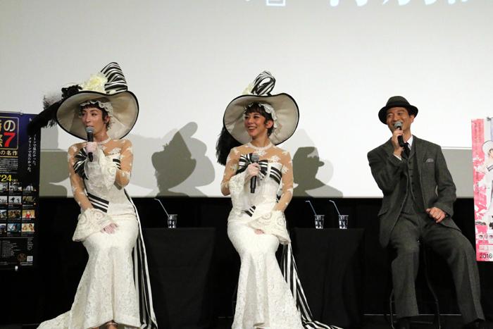真飛聖・寺脇康文・霧矢大夢「午前十時の映画祭7」