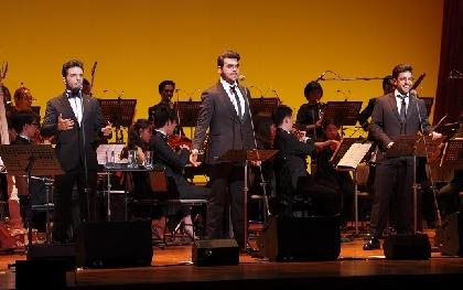 図抜けた歌唱と楽しいトーク! イタリアのテノール・トリオ「IL VOLO(イル・ヴォーロ)」来日公演ルポ