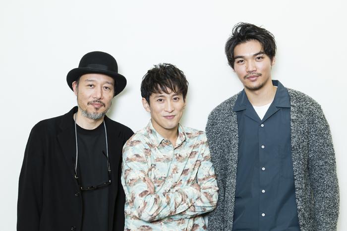 (左から)千葉哲也、成河、章平  (撮影:中田智章)