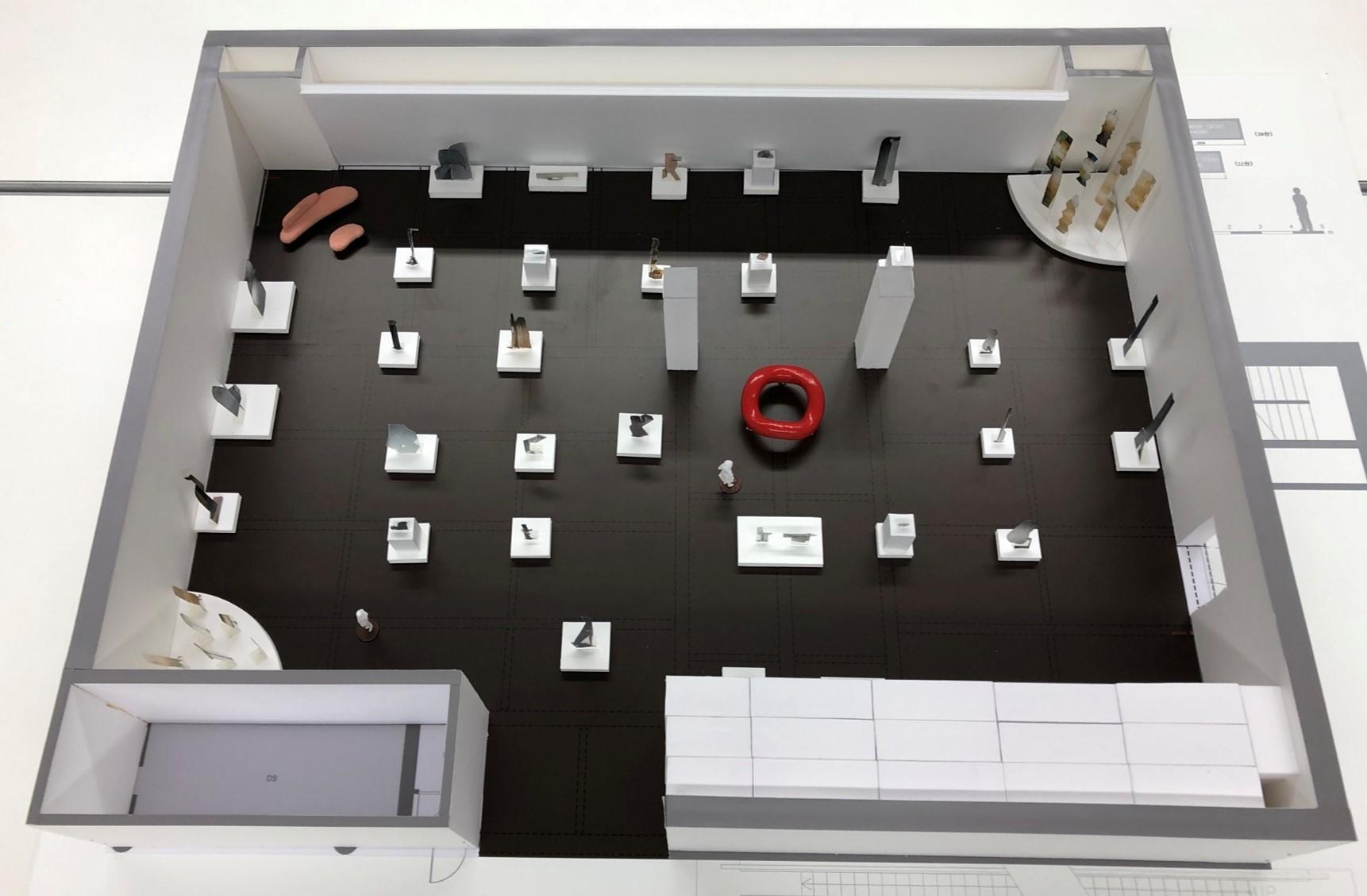 「イサム・ノグチ 発見の道」展示イメージ(模型) (オフィシャル提供)