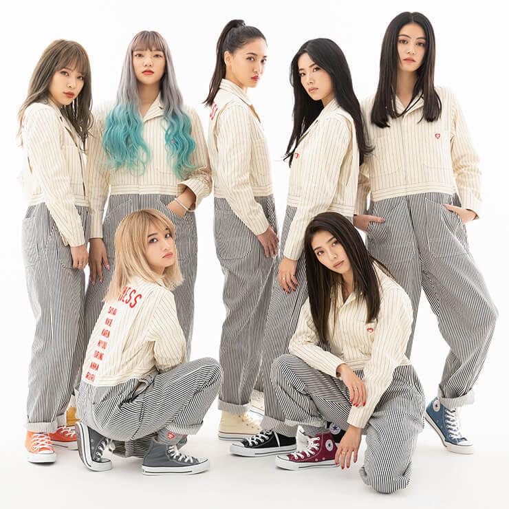 7人組ダンス&ボーカルグループ・Happiness