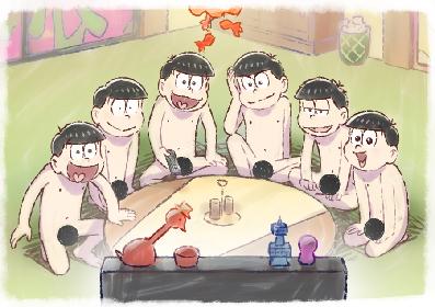 6つ子、テレビの前で全裸待機 今夜スタートのTVアニメ『おそ松さん』第3期新ビジュアルが解禁