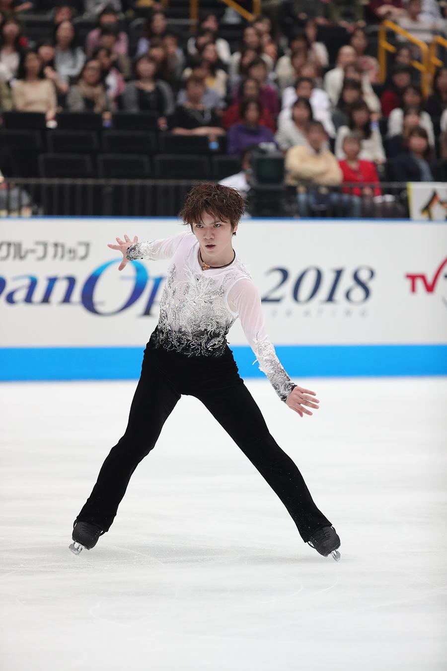 『木下グループカップ フィギュアスケート Japan Open 2019 3地域対抗戦』と『木下グループpresents カーニバル・オン・アイス2019』に出場する宇野昌磨