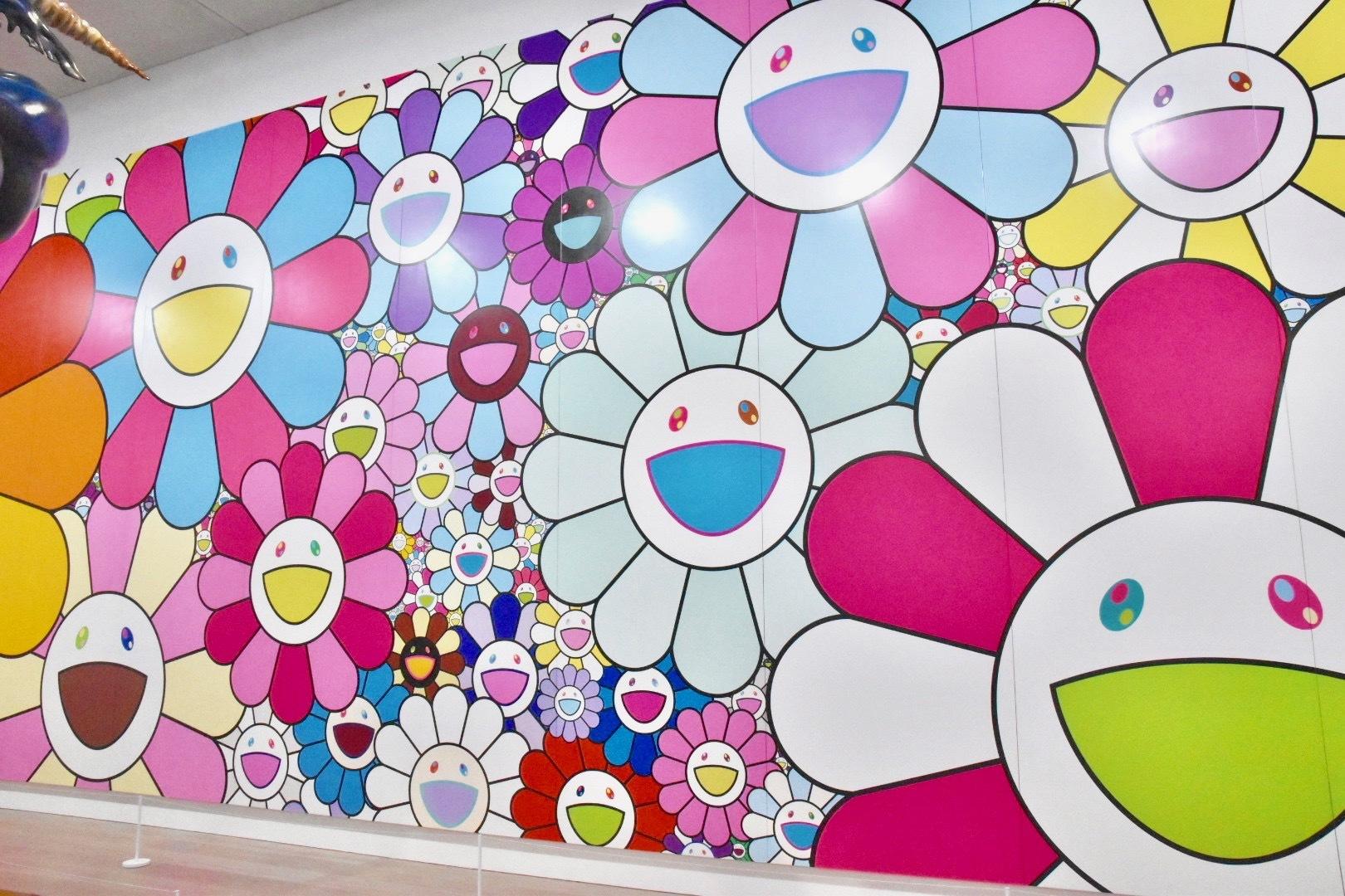村上隆《ポップアップフラワー》2020年  (C)2020 Takashi Murakami/Kaikai Kiki Co., Ltd All Rights Reserved.