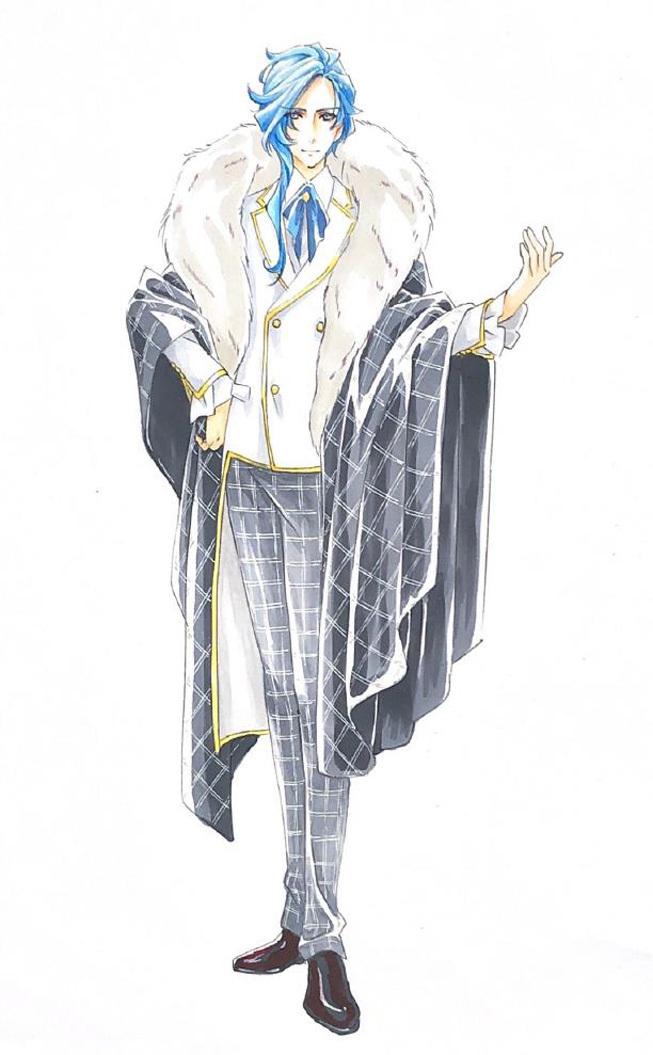 シャルル・茉莉・アントルモン(役:平賀勇成)   (C)「絶響MUSICA THE STAGE」2020 製作委員会
