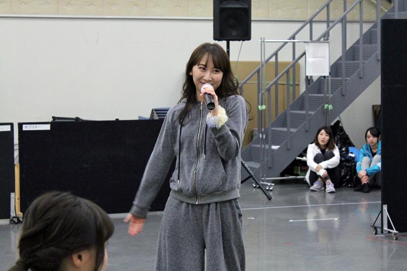マンモス役・仁藤萌乃