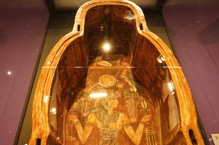 《アメンへテプの内棺内側》(部分)