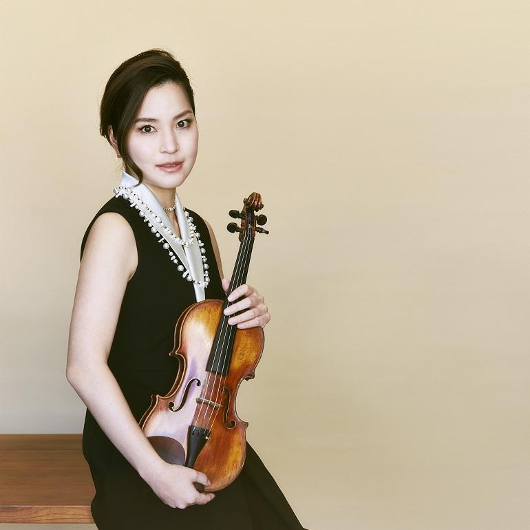 日本を代表するヴァイオリニスト神尾真由子 (c)Makoto Kamiya