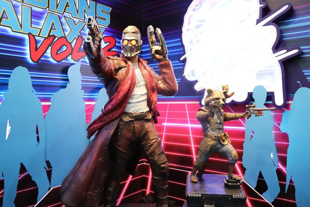 『ガーディアンズ・オブ・ギャラクシー:リミックス』からスターロードとロケット・ラクーン