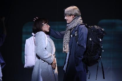 豊原江理佳、前山剛久のコメントが到着 A New Musical 『ゆびさきと恋々』初日開幕