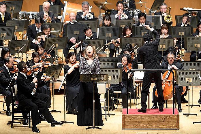 バーンスタイン交響曲第1番「エレミア」神奈川フィル定期演奏会みなとみらいシリーズ(H30 4月7日) (C)藤本史昭