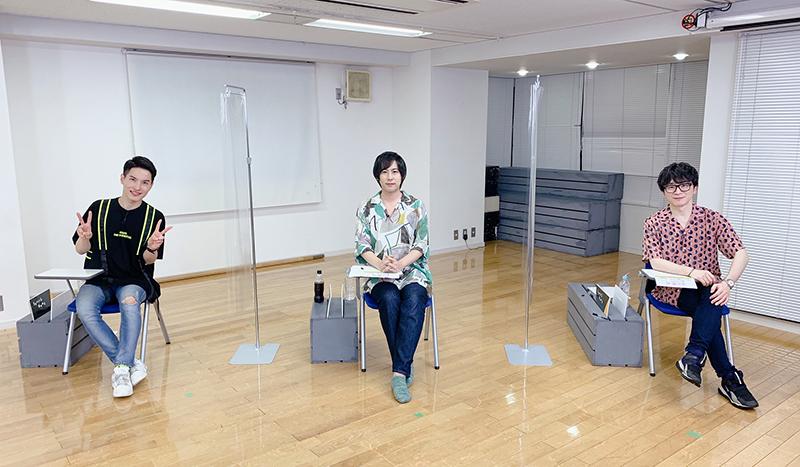鈴木裕斗さん(リヨン 役)、白井悠介さん(ルシオール役)、阿部 敦さん(アルノ ー役)