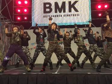 BOYS AND MEN 研究生 メジャー流通シングル「ドドンコ Don't worry」MVを初公開! 2,000人を前にライブで新曲「ALIVE!」も初披露