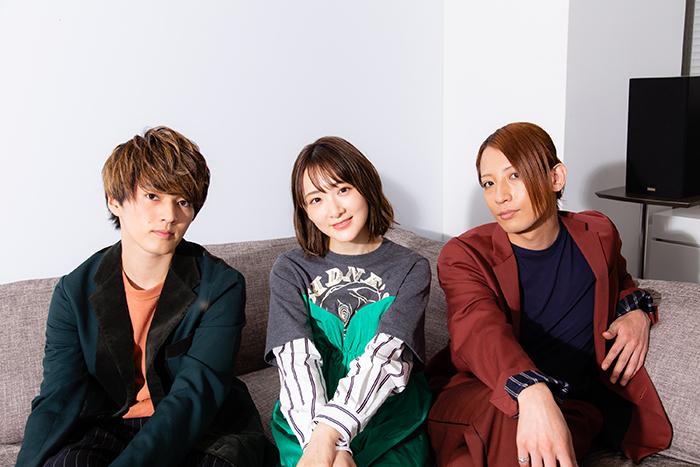 (左から)矢部昌暉、生駒里奈、陳内将