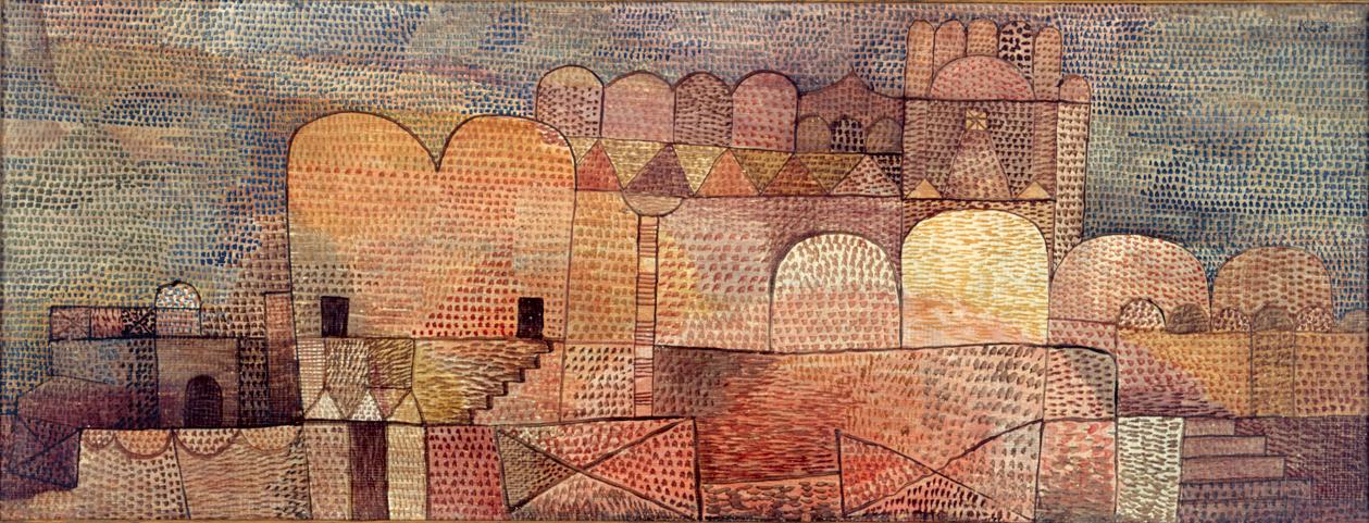 パウル・クレー《大聖堂(東方風の)》1932年 アサヒビール株式会社