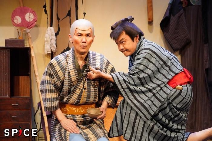『あんまと泥棒』ゲネプロ写真  撮影:宮川舞子