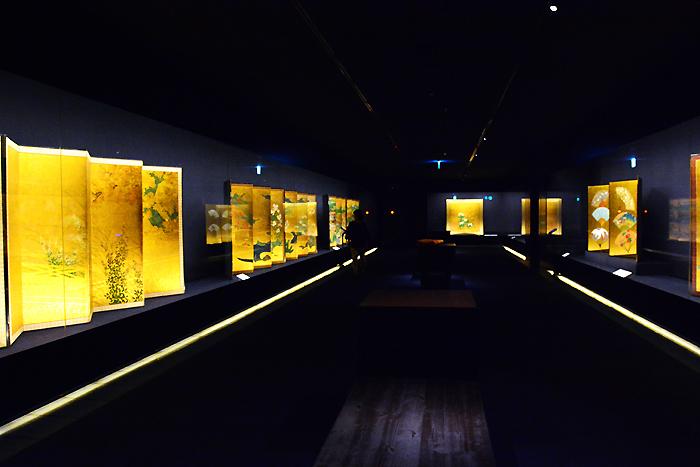 岡田美術館 展示風景