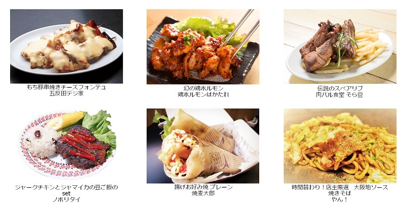 『グルメ芸人祭 俺のとっておき大集合!!』イメージ