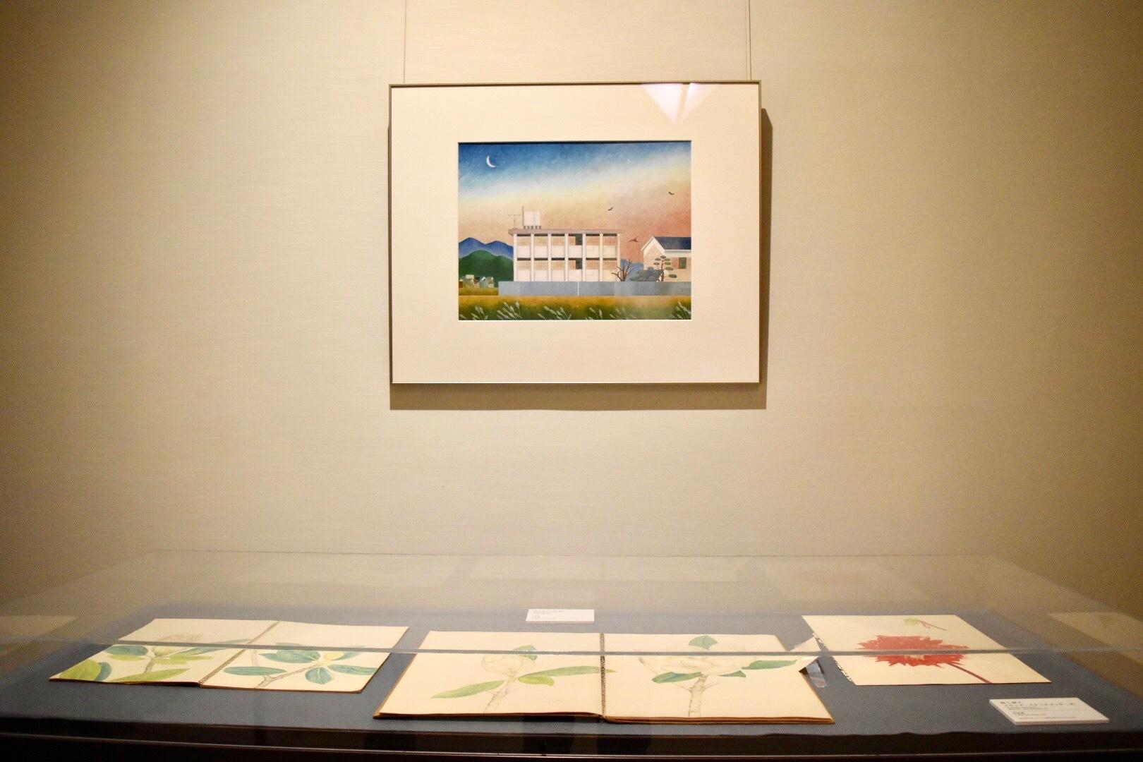 岡上淑子 《校舎》 c.1971-76年