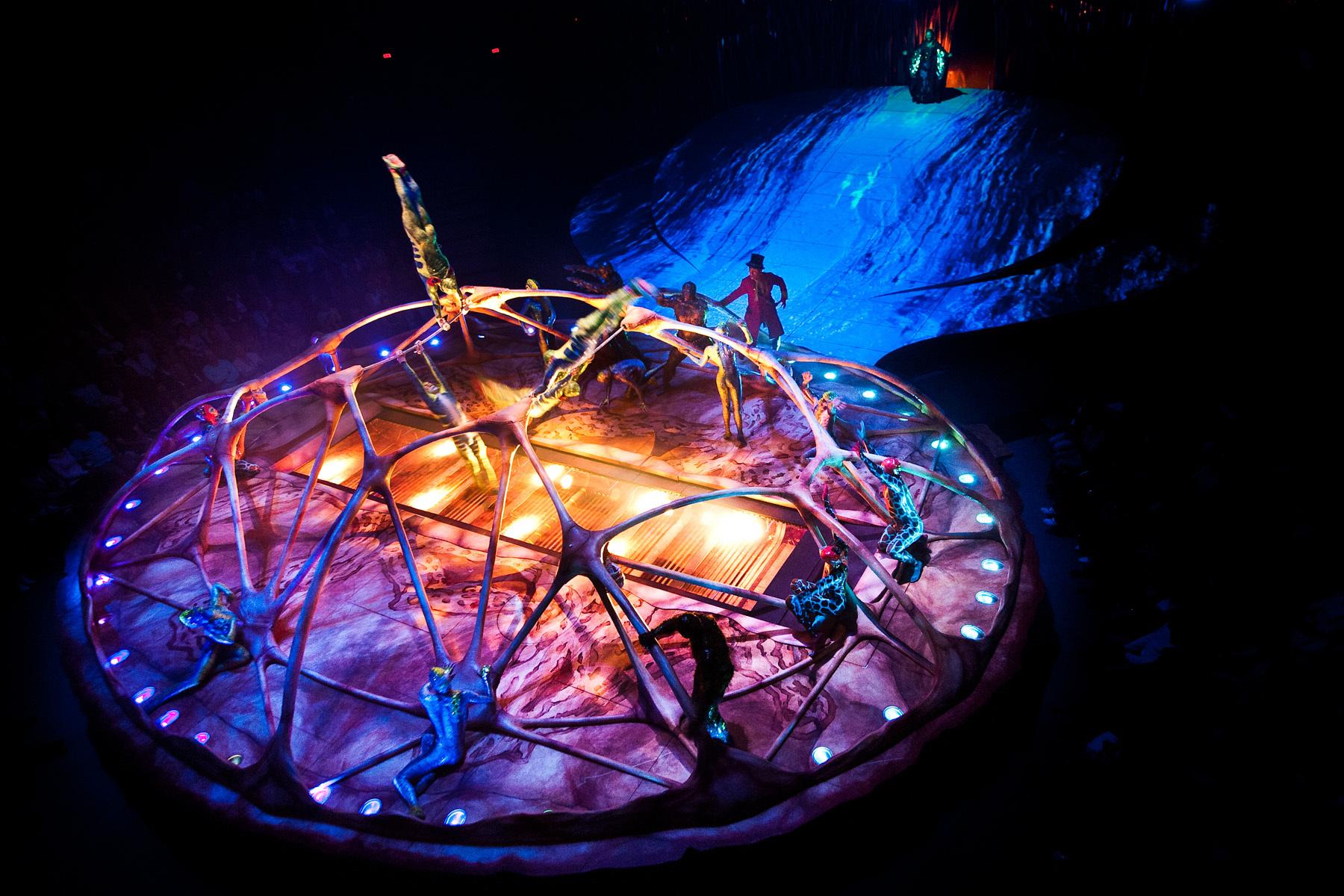 カラペース 1 CARAPACE Photo: OSA Images Costumes: Kym Barrett © 2010 Cirque du Soleil