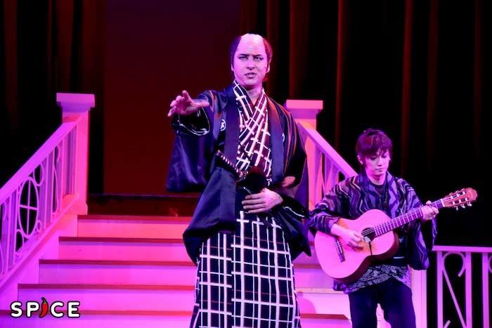 音楽活劇『SHIRANAMI』のゲネプロの様子
