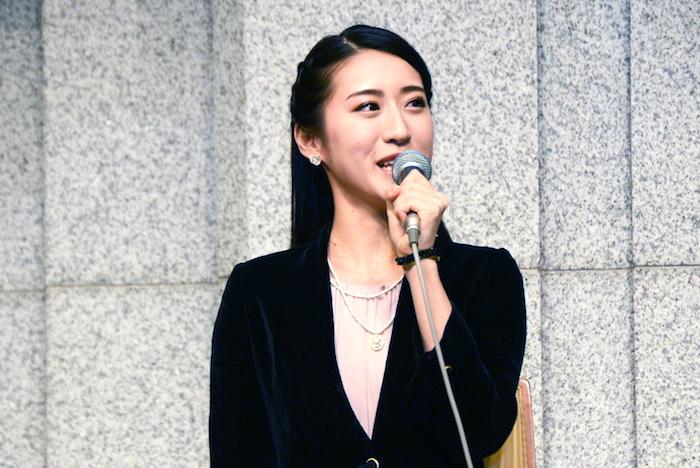 エポニーヌ役の松原凛子