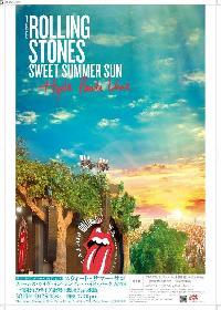 ザ・ローリング・ストーンズ『ライブ絶響上映会』でポスターをプレゼント