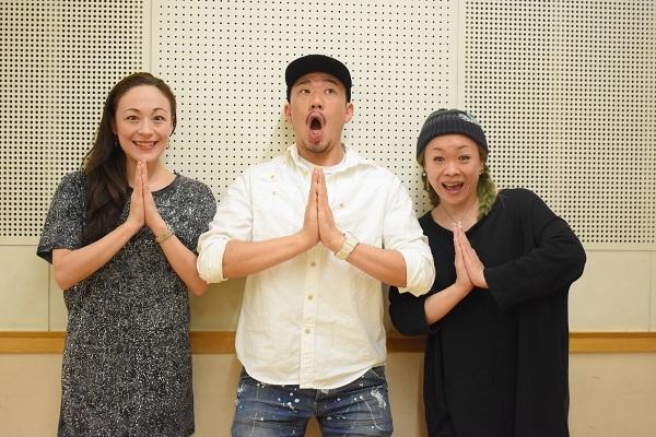 (左から)シルビア・グラブ 大村俊介(SHUN)林希