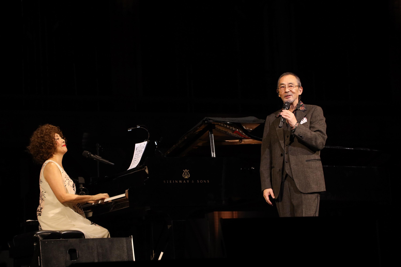 矢野顕子、小坂忠  Photo by 三浦麻旅子