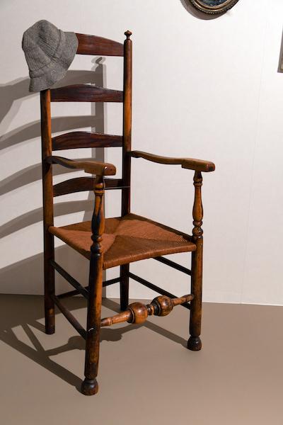 ライターが愛用した椅子