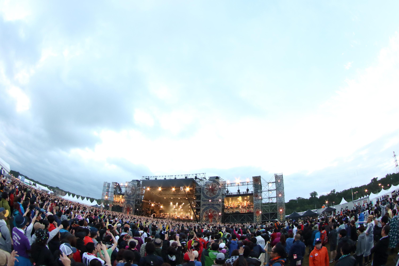 東京スカパラダイスオーケストラ (C)RISING SUN ROCK FESTIVAL 撮影:n-foto RSR team