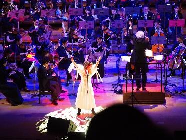 NOKKO 初のフルオーケストラ公演の演奏曲発表、「フレンズ」「人魚」ほか新旧名曲を予定