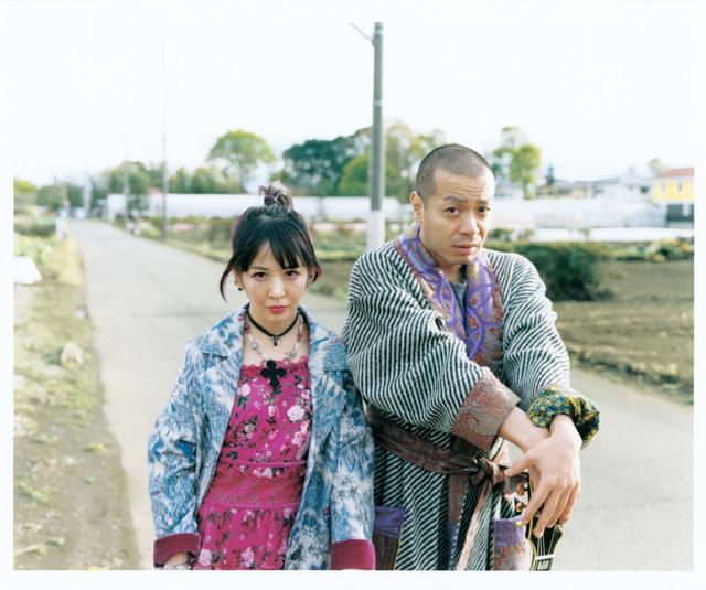 大森靖子と峯田和伸。