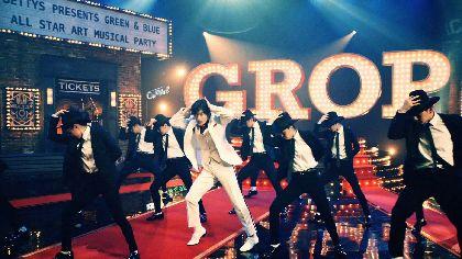 三浦春馬がスーツ姿で歌い、s**t kingzの振付で踊る! 新CM「グロップミュージカル」篇を公開