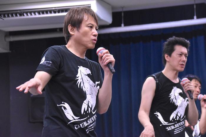玉野和紀(左)、吉野圭吾