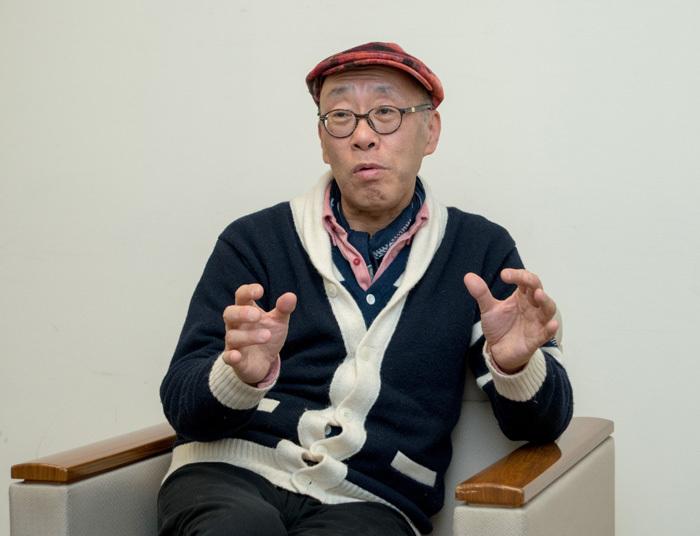 青島広志 撮影:横山将勝