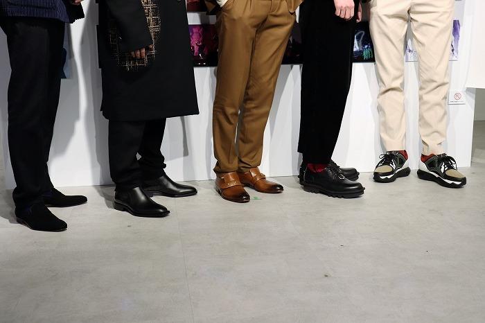 ちなみに本日の5人はこんな靴を履いていました!