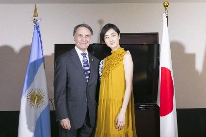 日本とアルゼンチンが国交樹立120周年 記念イベントにシシド・カフカ、駐日アルゼンチン大使が来場