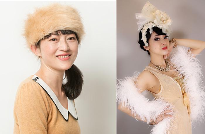 (左から)浅生ハルミン(写真:ただ(ゆかい))、Violet Eva(写真:Lilly Lens)