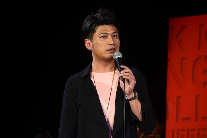 コリンズ役の光永泰一朗
