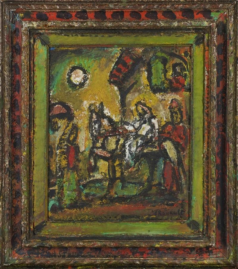 ジョルジュ・ルオー《エジプトへの逃避》1952年 パナソニック 汐留ミュージアム蔵